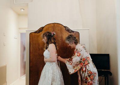 Athelhampton House Wedding-12