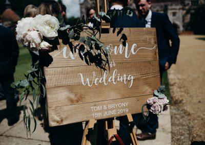 Athelhampton House Wedding-14