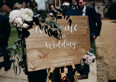 Athelhampton House Wedding-14