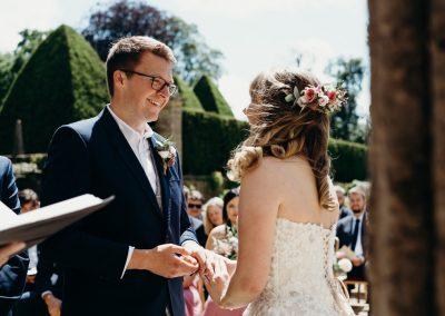 Athelhampton House Wedding-30