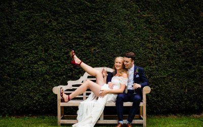 Garden wedding at Dean's Court in Wimborne | Jack & Rachel