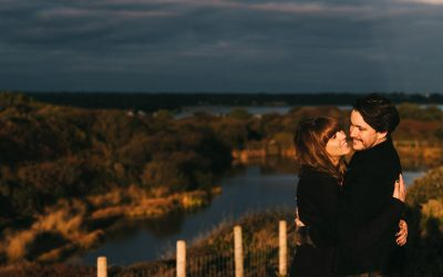 Hengistbury Head Couple Session