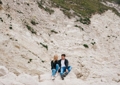 Lulworth Cove Pre Wedding Session-10
