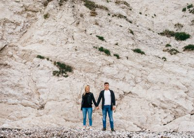 Lulworth Cove Pre Wedding Session-13