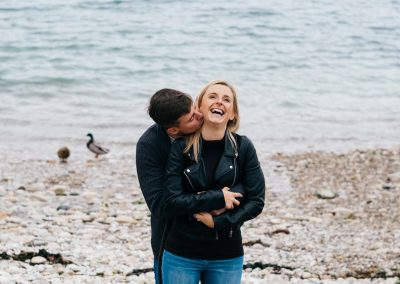 Lulworth Cove Pre Wedding Session-16