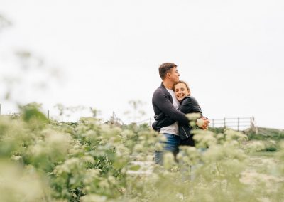 Lulworth Cove Pre Wedding Session-18