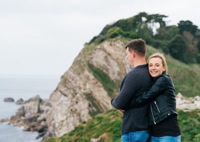 Lulworth Cove Pre Wedding Session-19
