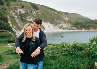 Lulworth Cove Pre Wedding Session-23