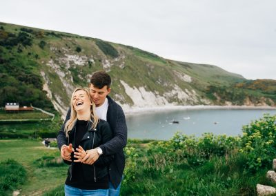 Lulworth Cove Pre Wedding Session-25