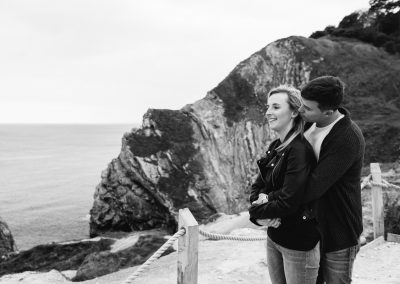 Lulworth Cove Pre Wedding Session-28