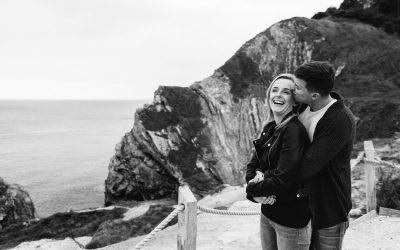Dorset Beach Pre Wedding Session