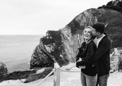 Lulworth Cove Pre Wedding Session-30