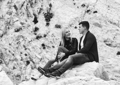 Lulworth Cove Pre Wedding Session-8