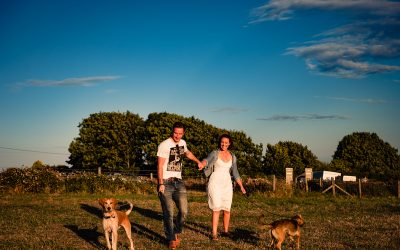 Worth Matravers Pre Wedding Session | Kate & Steve