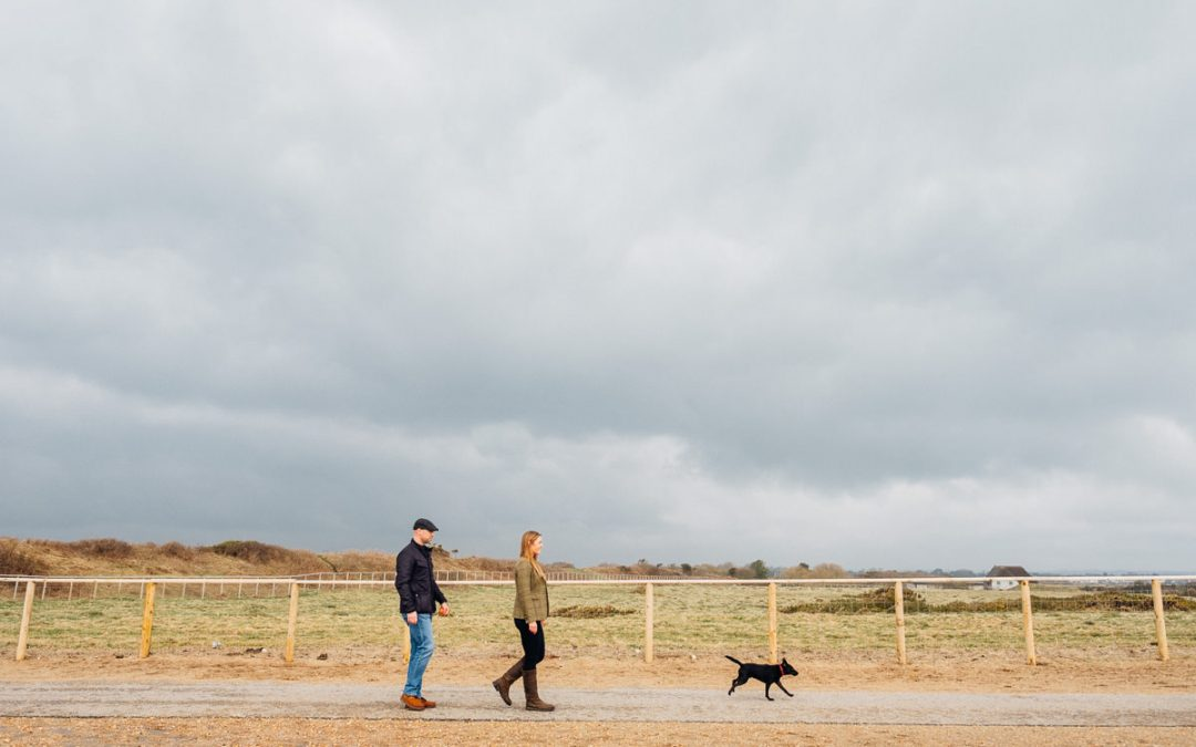 Hengistbury Head Pre Wedding Session | Alex & James