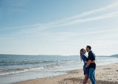 Pre wedding photography session Highcliffe Beach-12