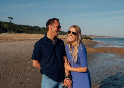 Pre wedding photography session Highcliffe Beach-27