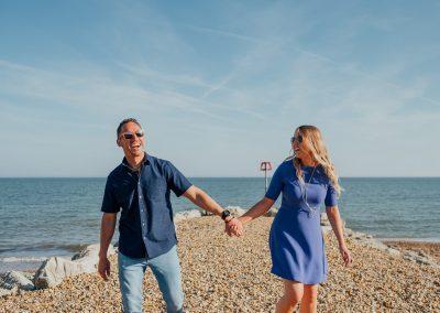 Pre wedding photography session Highcliffe Beach-4
