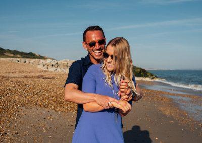 Pre wedding photography session Highcliffe Beach-9