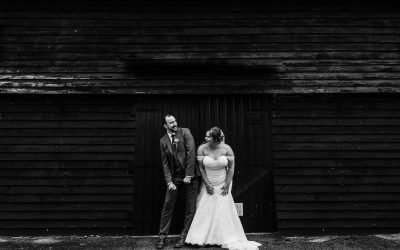 Farm wedding near Guildford